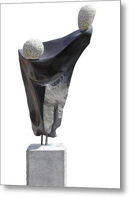 Glisando Metal Print by Jos Hamann