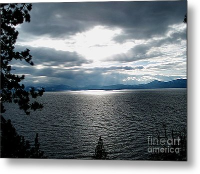 Glistening Lake  Metal Print by The Kepharts