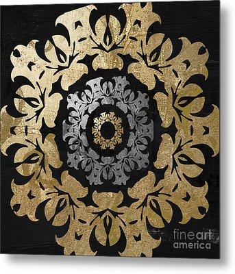 Glitterfish Iv Metal Print