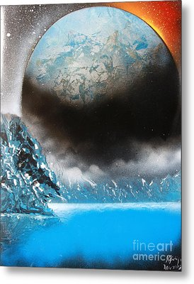 Metal Print featuring the painting Global 4676 by Greg Moores