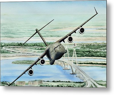 Globemaster Metal Print by Lane Owen