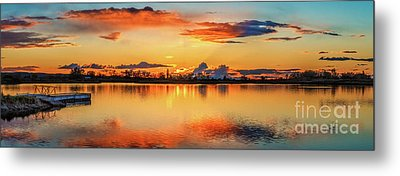 Metal Print featuring the photograph Glorious Evening by Robert Bales