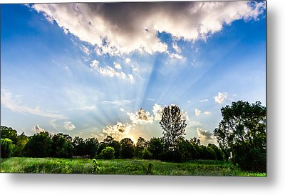 Metal Print featuring the photograph Glorious Sky - B by Anthony Rego