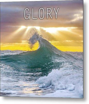 Glory. Metal Print