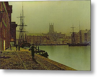 Gloucester Docks Metal Print