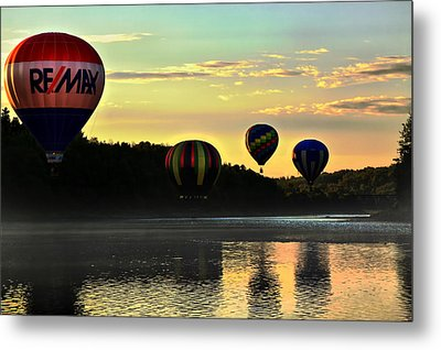 Glow By The River Metal Print by Gary Smith