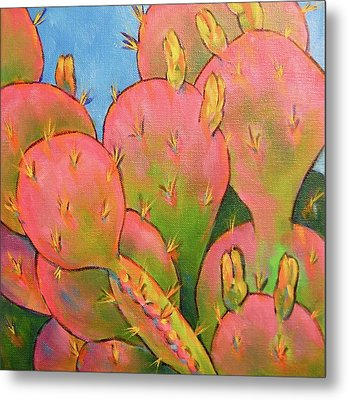 Glow Metal Print by Nancy Matus