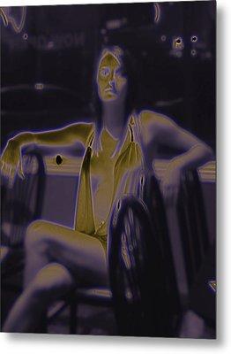 Glowing Brittney IIi Metal Print