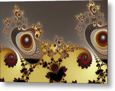 Glynns And Spirals No. 3 Metal Print by Mark Eggleston