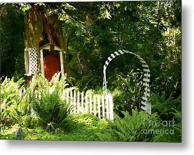 Gnome's House Metal Print by Robert Nankervis