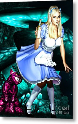 Go Ask Alice Metal Print