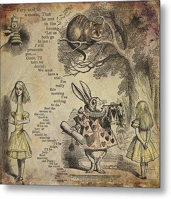 Go Ask Alice Metal Print