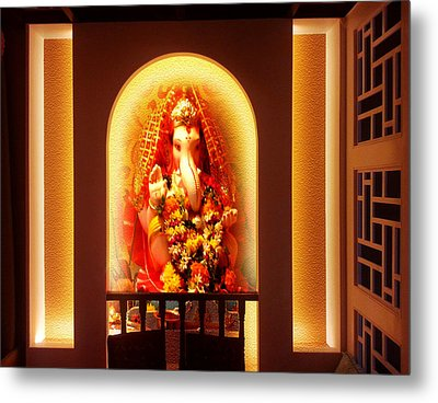 God Bless You Metal Print by Anil Nene