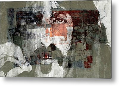 God I Think I'm The American Dream  Metal Print by Paul Lovering