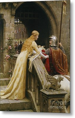 God Speed Metal Print by Edmund Blair Leighton