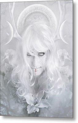 Goddess Metal Print by Cambion Art