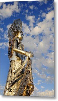 Goddess Isthmus Metal Print by Skip Hunt