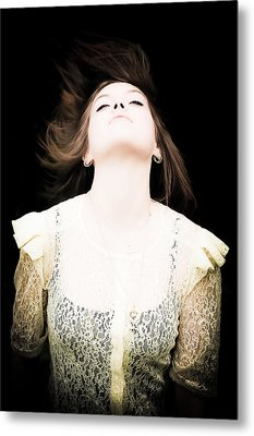 Goddess Of The Moon Metal Print by Loriental Photography