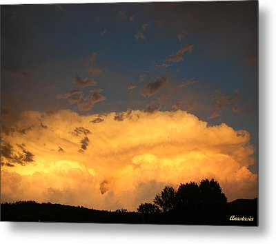 Metal Print featuring the photograph God's Answer To Rain Prayers by Anastasia Savage Ealy