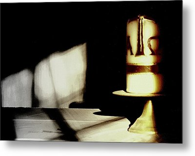 Gods Candle.. Metal Print by Al  Swasey