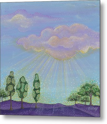 God's Grace Metal Print by Tanielle Childers