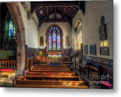 Metal Print featuring the photograph Gods Light by Ian Mitchell