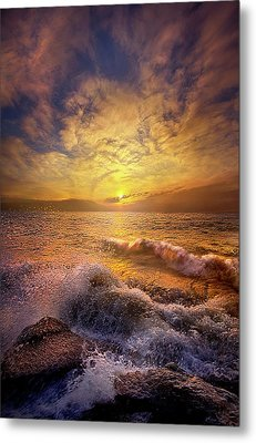 Metal Print featuring the photograph Gods Natural Cure by Phil Koch