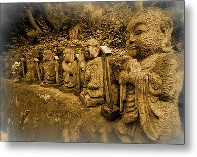 Metal Print featuring the photograph Gods Of Japan by Daniel Hagerman