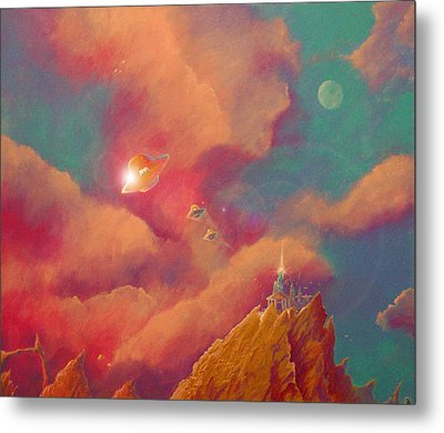 Gods Of Olympus Metal Print by Steve Griffith