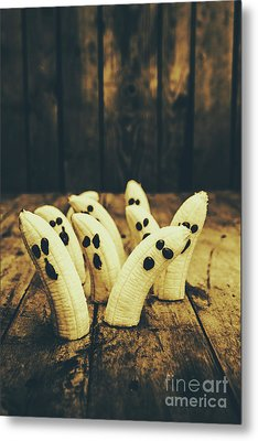 Going Bananas Over Halloween Metal Print by Jorgo Photography - Wall Art Gallery