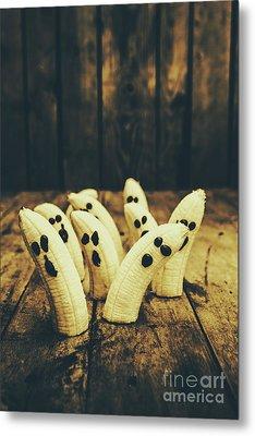 Going Bananas Over Halloween Metal Print