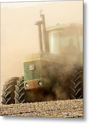 Going Green Metal Print by Everett Bowers
