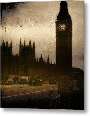 Metal Print featuring the digital art Going Home  by Fine Art By Andrew David