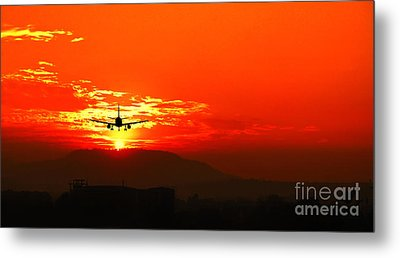 Going Home Metal Print by Charuhas Images