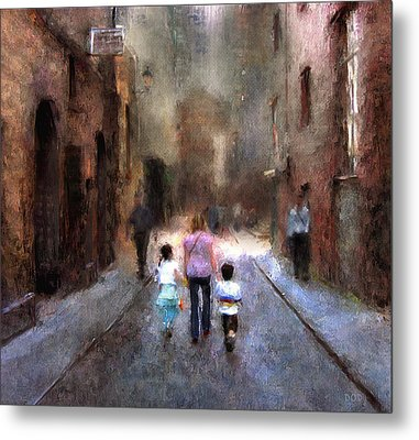 Going Home Metal Print by Declan O'Doherty