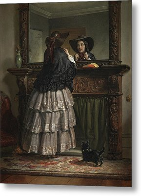 Going Out  Metal Print by Philip Hermogenes Calderon