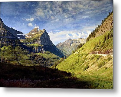 Going To The Sun 2 Metal Print by Marty Koch