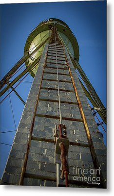 Metal Print featuring the photograph Going Up Mary Leila Cotton Mill Water Tower Art by Reid Callaway