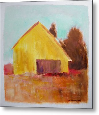 Metal Print featuring the painting Gold And Warm by John Williams