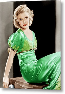 Gold Diggers Of 1933, Ginger Rogers Metal Print by Everett