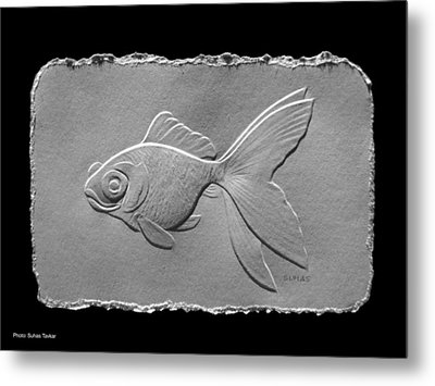Gold Fish1a Metal Print