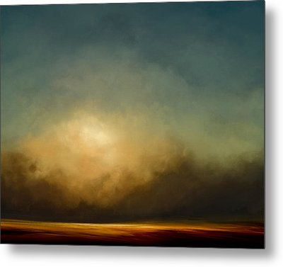 Gold Shift Metal Print