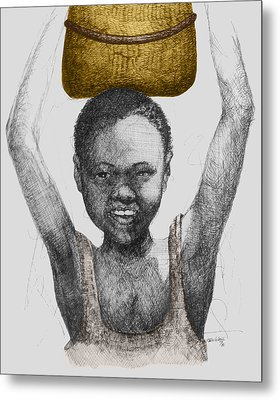 Gold Treasure Metal Print by  Albert Fennell