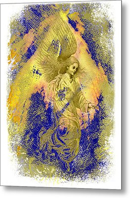 Golden Angel Metal Print by Nato  Gomes