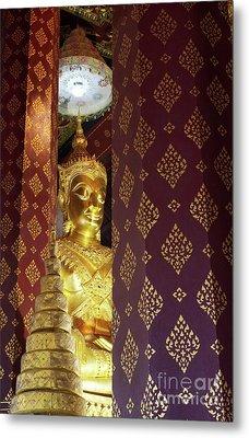 Golden Buddha Metal Print by Buchachon Petthanya