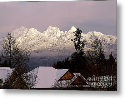 Metal Print featuring the photograph Golden Ears Mountain View by Sharon Talson