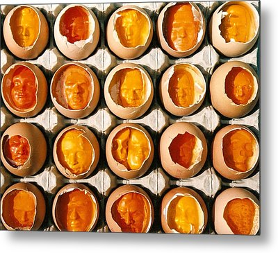 Golden Eggs 2 Metal Print by Mark Cawood