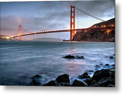 Golden Gate 2 Metal Print by Matt Hammerstein