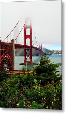 Golden Gate Metal Print by Amy Dooley