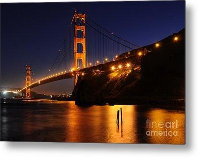Golden Gate Bridge 1 Metal Print